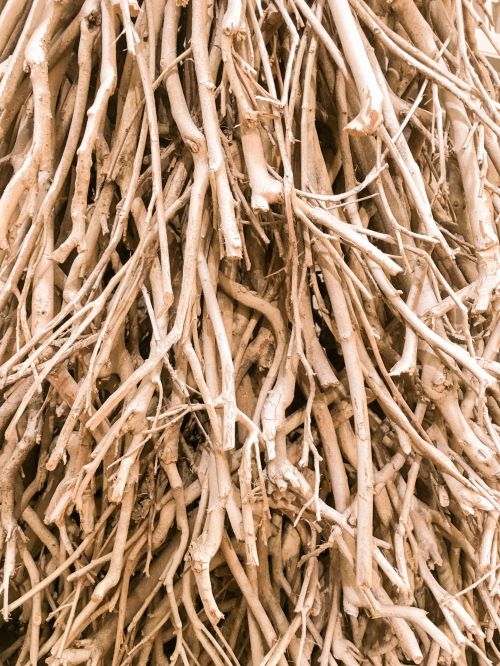 Wooden Twigs Background