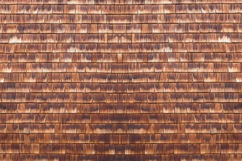 wooden wall slate wall shingle