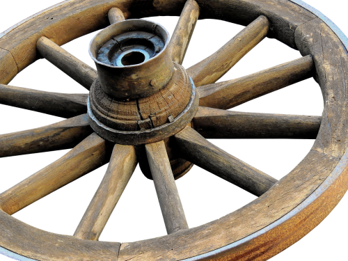 wooden wheel wheel wagon wheel