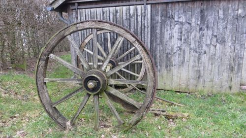 wooden wheel wagon wheel wheel