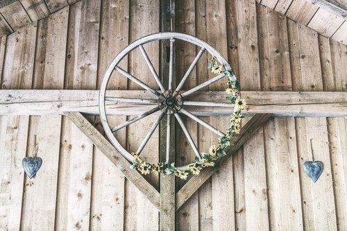 wooden wheel  wheel  wagon wheel
