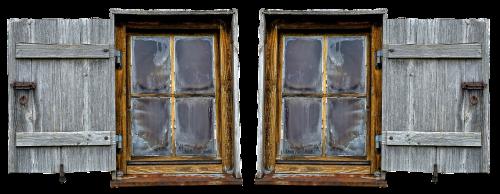wooden windows wood shop old