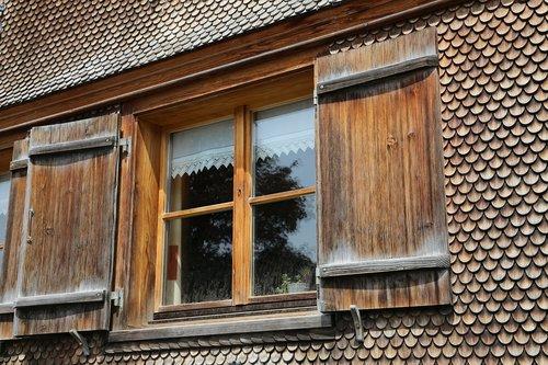wooden windows  panel shops  shutters