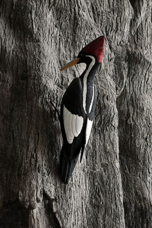 Woodpecker Figurine