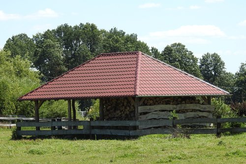 woodshed  bower  roofing