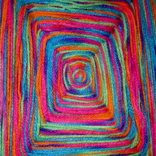 wool color colorful
