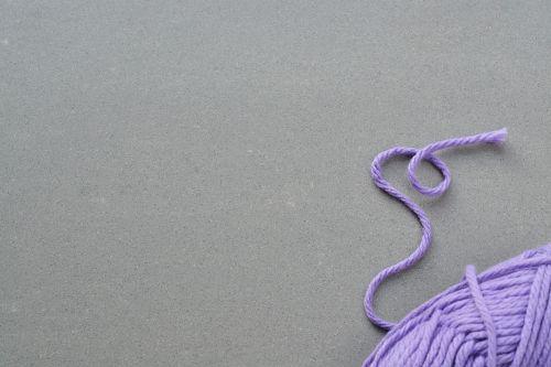 wool cat's cradle knitting