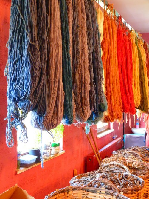 wool fabric color