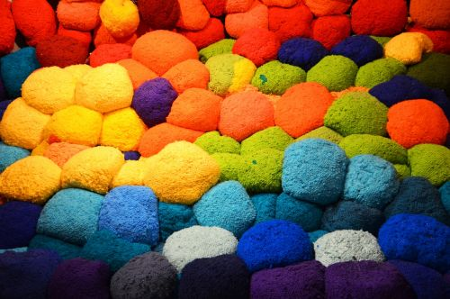 wool installation color