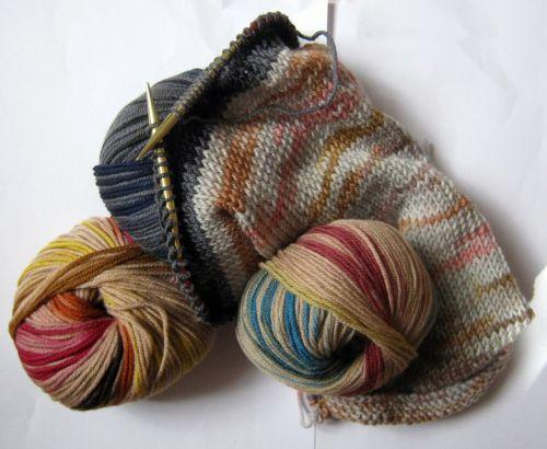 wool mesh colorful