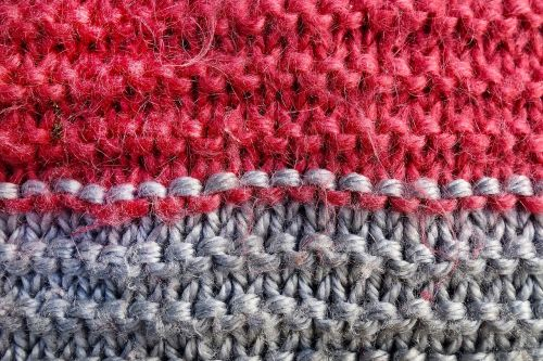 wool stitches knitting