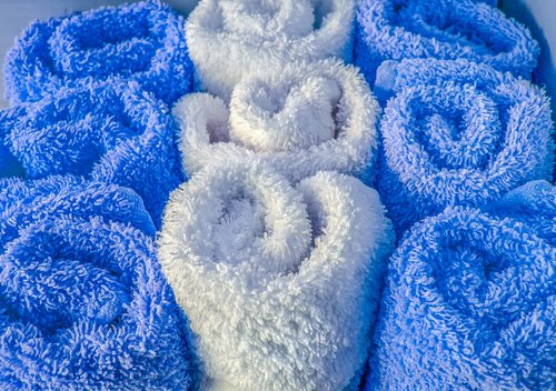 wool  fluffy  towel
