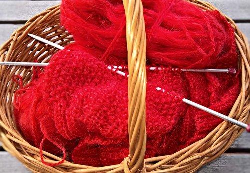 wool  basket  knit