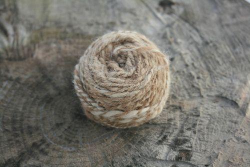 wool yarn skein