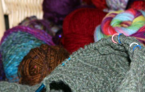 wool aran knitting cable