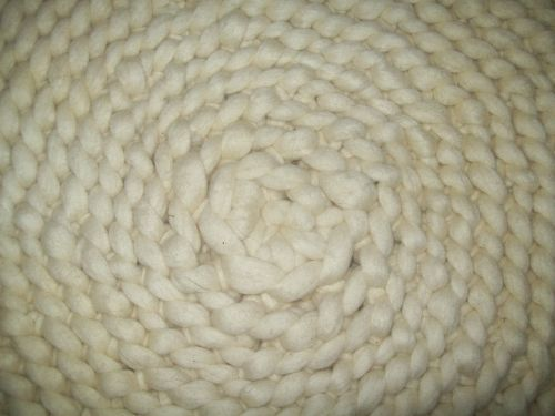 wool knit structure