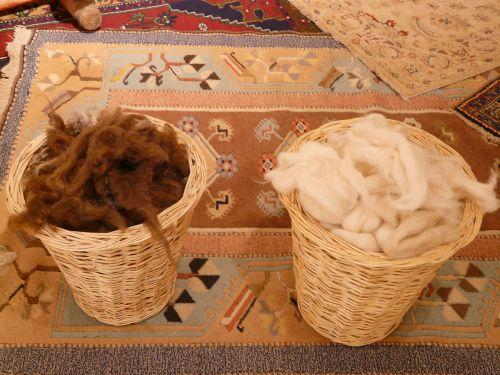 wool fibers wool carding