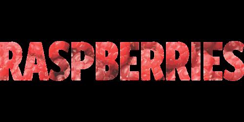 word raspberries raspberry