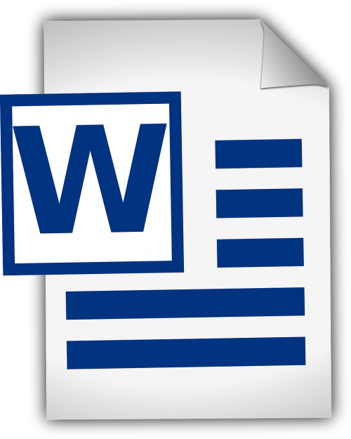 word document document text