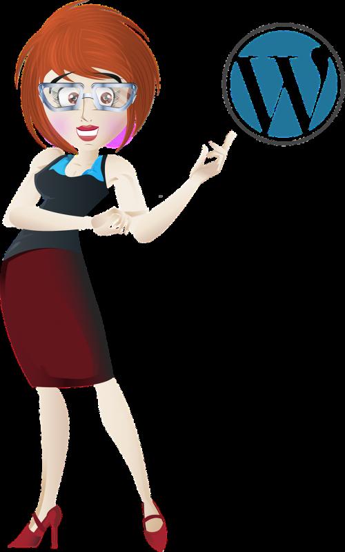 wordpress business woman