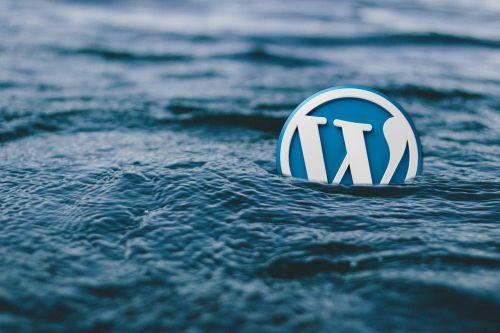 wordpress water logo