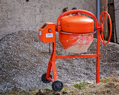 work craft concrete mixer