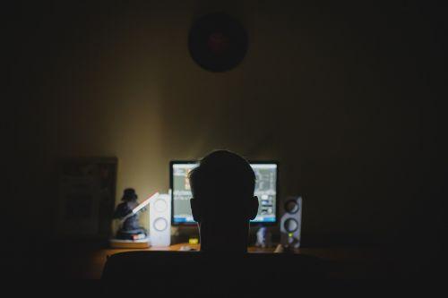 work desk computer