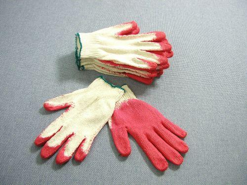 work gloves gloves red work gloves
