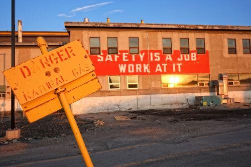 work safety industrial danger