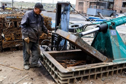 worker chinese metal