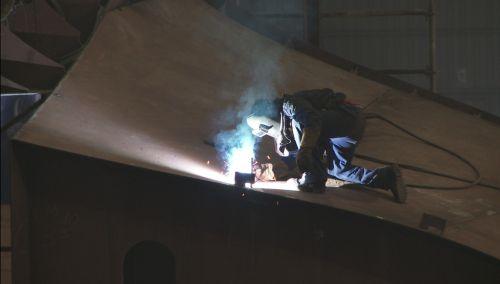 worker welder welding