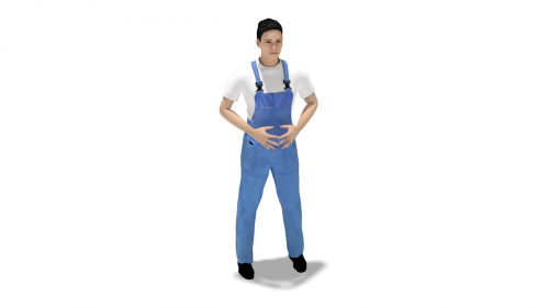 worker man overalls