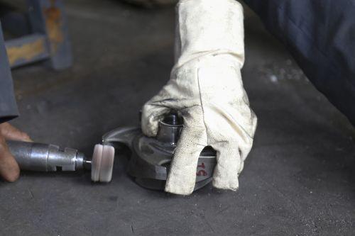 worker hammer man