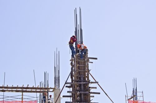 workers mason construction