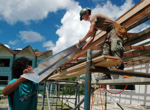 workers construction metal