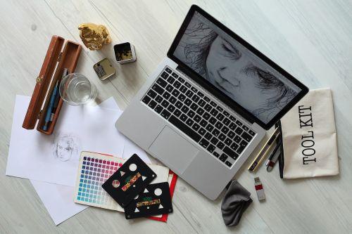 workplace computer creative
