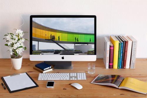 workplace imac desktop