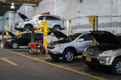 workshop vehicles maintenance