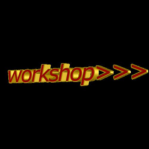 workshop font 3d