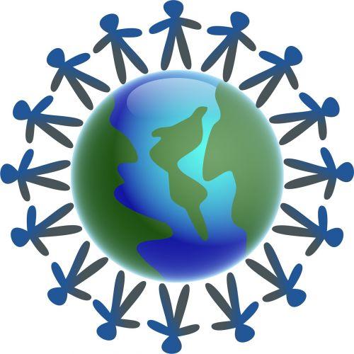 world globe men