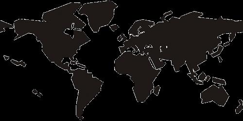 world map earth