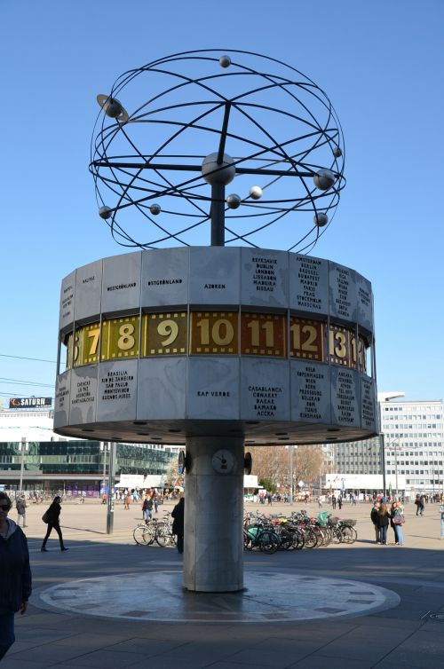 world clock berlin artwork