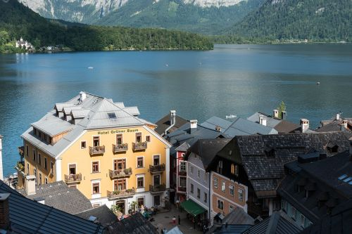 world heritage hallstadt lake