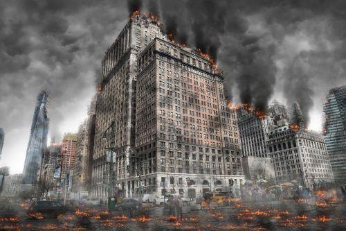 world war armageddon destruction