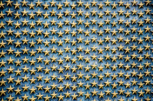 world war ii memorial wwi stars
