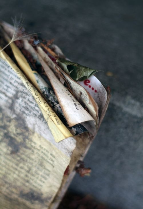 Worn Book Pages