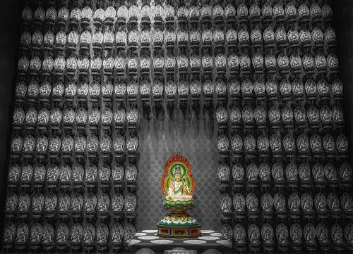 worship buddhist figure asia