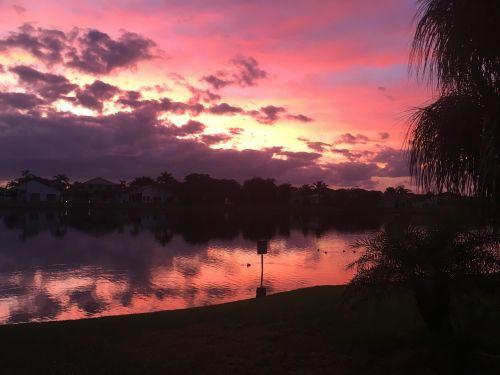 wow breathtaking sunrise