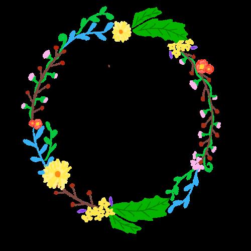 vainikas,korola,gėlių,augalai