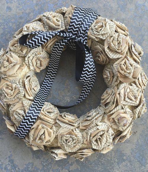 wreath autumn diy